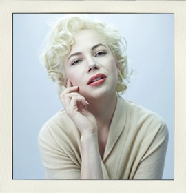 Michelle Williams dans le film My Week With Marilyn
