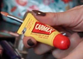 Carmex baume à lèvres