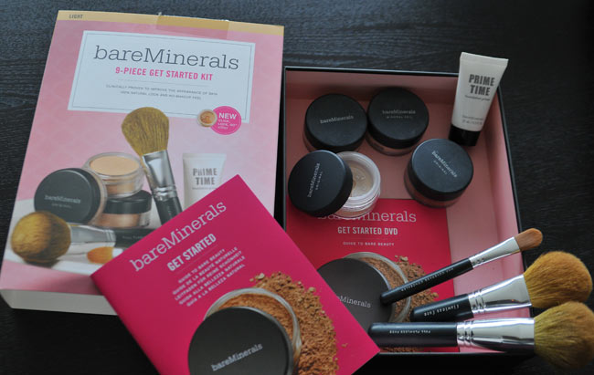 avis get started kit bareminerals