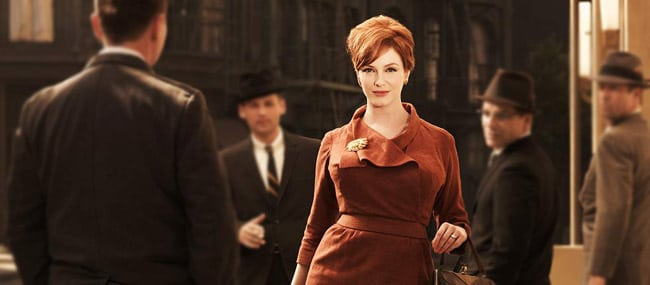 Christina Hendricks mad men cheveux