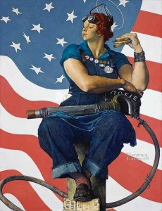 Rosie the Riveter norman Rockwell