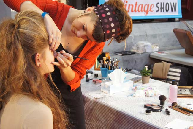 atelier maquillage vintage