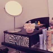 Diy personnaliser un meuble coiffeuse vintage - Personnaliser un meuble ...