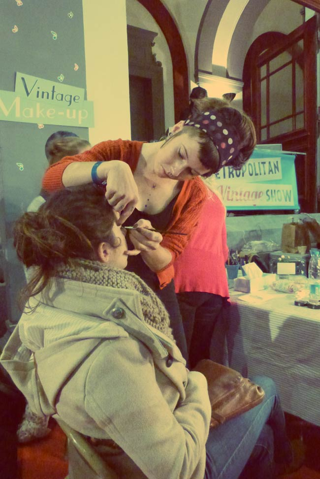 salon vintage maquillage