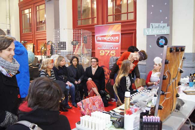 stand maquillage metropolitan vintage show
