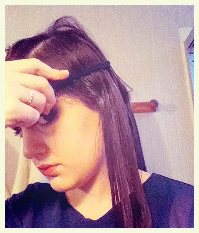 coiffure retro vagues