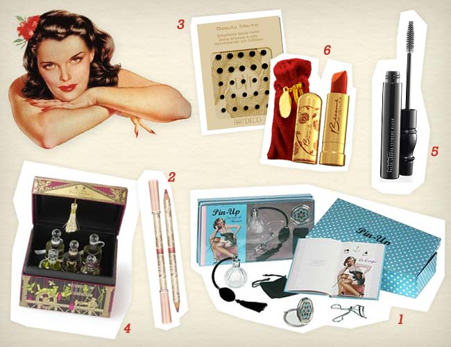 idees cadeaux noel vintage pin up
