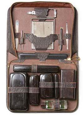 kit rasage vintage noel homme