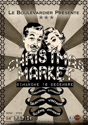 lyon christmas market photo