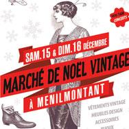 marche noel vintage paris