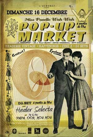 pop up vintage market lille