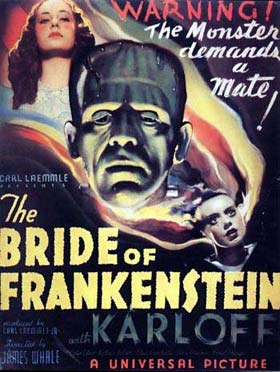 bride of frankenstein hammer