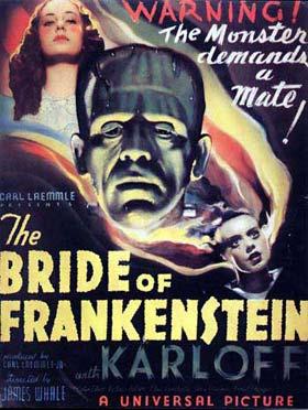 bride of frankenstein hammer