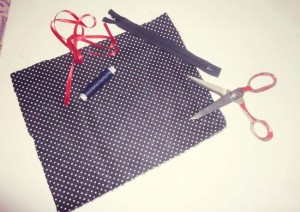 materiel diy trousse maquillage