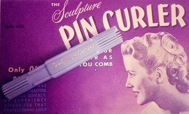 sculpture pin curler
