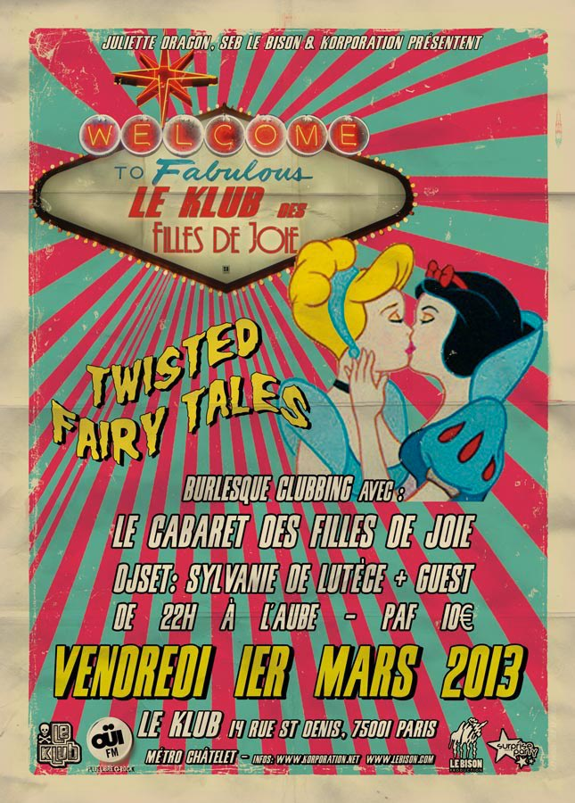 soiree burlesque Twisted Fairy Tales