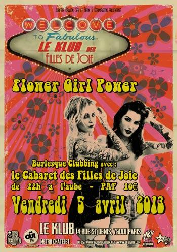 klub filles de joie avril 2013