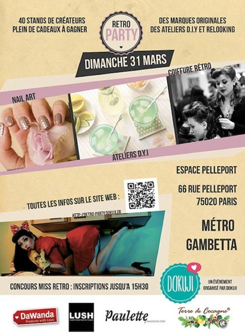 evenement vintage paris