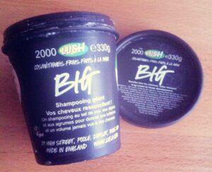shampooing big lush