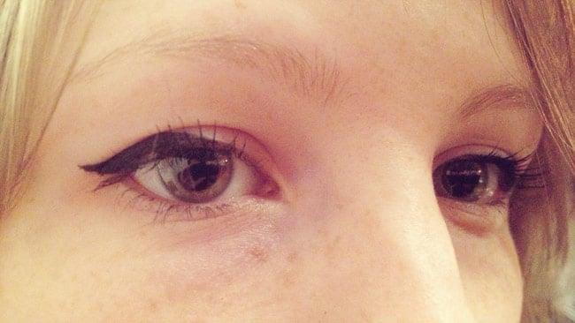 tuto eye liner images