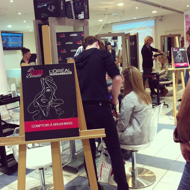 loreal professionnel afterwork coiffure