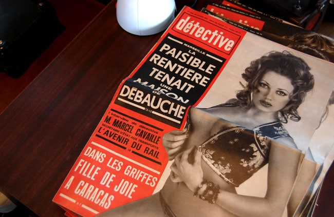 magazine detective ancien