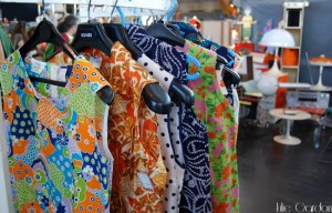 robes marche mode vintage