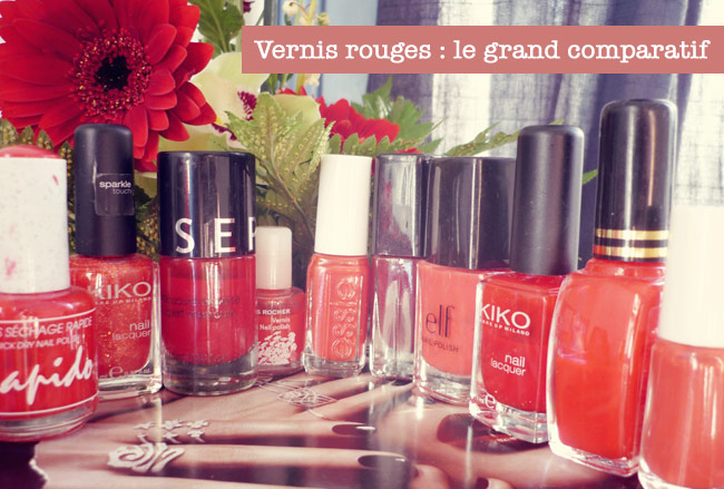 meilleur vernis a ongles rouge