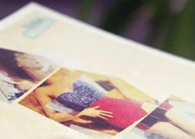 carte postale vintage makeup