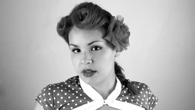 victory rolls tuto coiffure