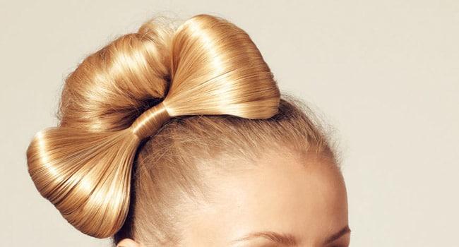 postiche noeud cheveux