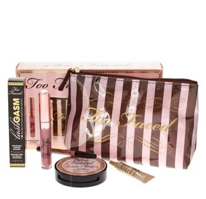 too faced kit maquillage vacances