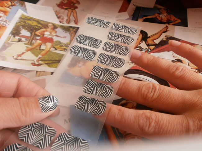 deco ongles patch