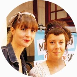 equipe maquillage vintage