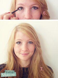 make up cats eyes