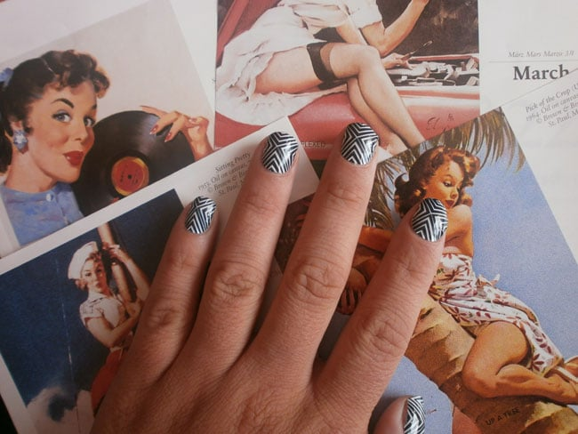 patch ongles poses