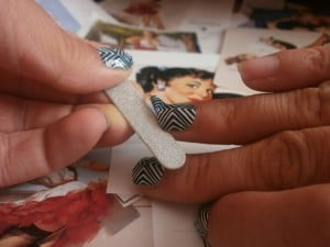 pose patch ongles