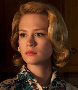 betty draper makeup