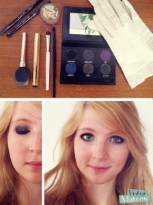 maquillage downton abbey