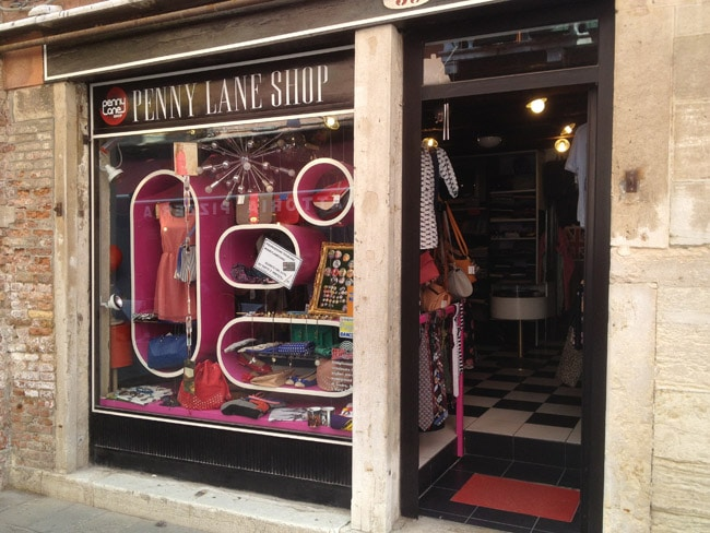 penny  lane boutique venise