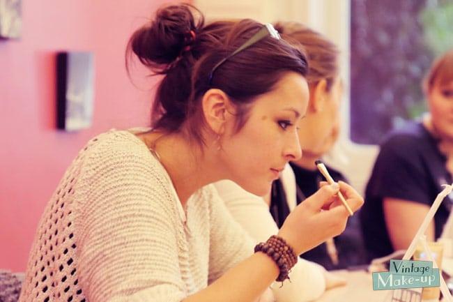 atelier maquillage vintage makeup