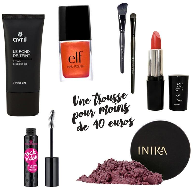 Maquillage pas cher bons plans et trousse compl te moins de 40 - Maquillage pas chere sans frais de port ...