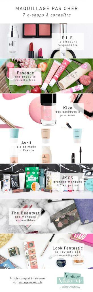 maquillage pas cher meilleurs sites
