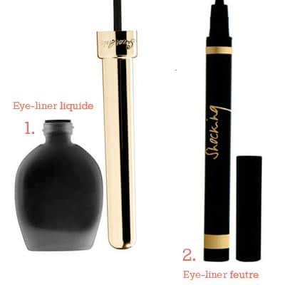 types eye liner