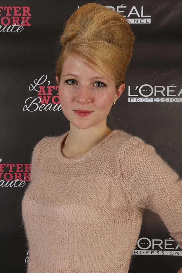 afterwork-beaute loreal camille liberty 2013