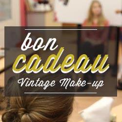 bon cadeau maquillage vintage makeup