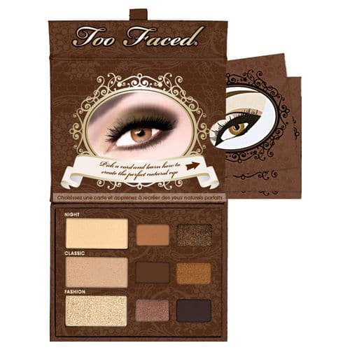 palette de maquillage too faced