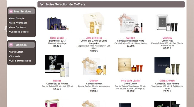 bonnes adresses pour acheter du parfum moins cher. Black Bedroom Furniture Sets. Home Design Ideas
