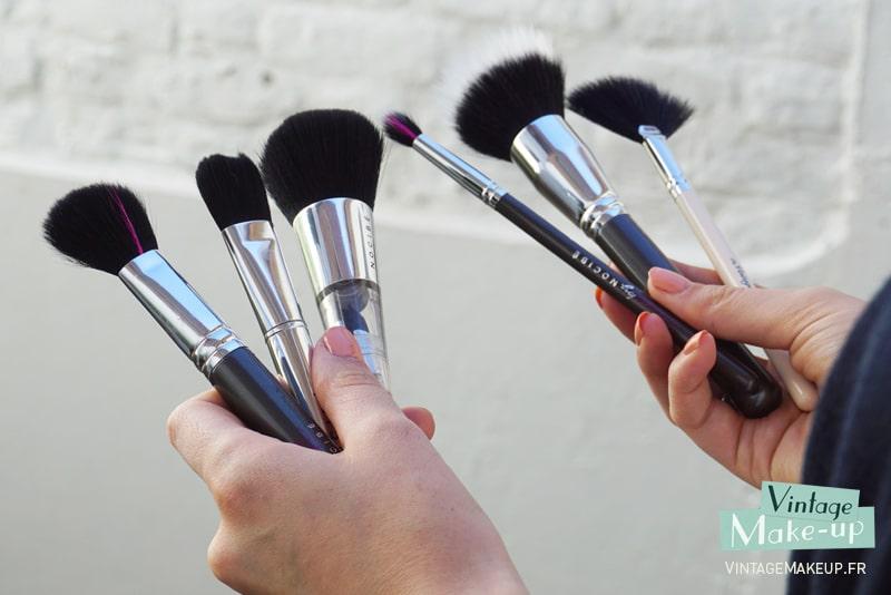 Pinceaux maquillage utilisation et conseils le guide - Utilisation pinceaux maquillage ...