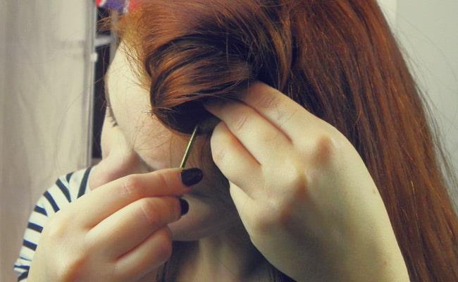 coiffure 40s rosie riveter